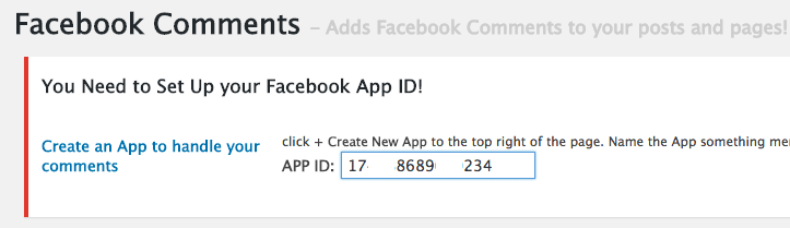 facebook comments plugin