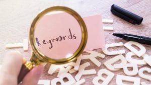 shorttail keywords