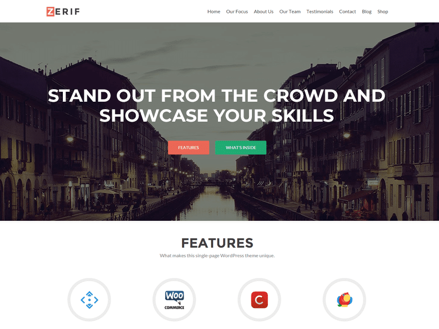 wordpress theme zerif lite