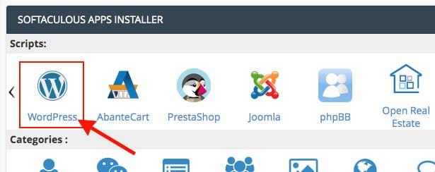 wordpress installer