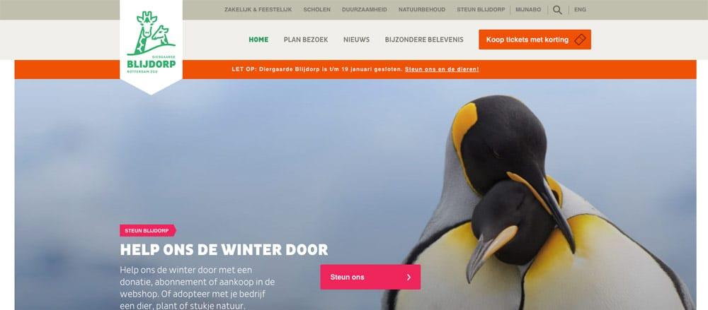 website diergaarde blijdorp
