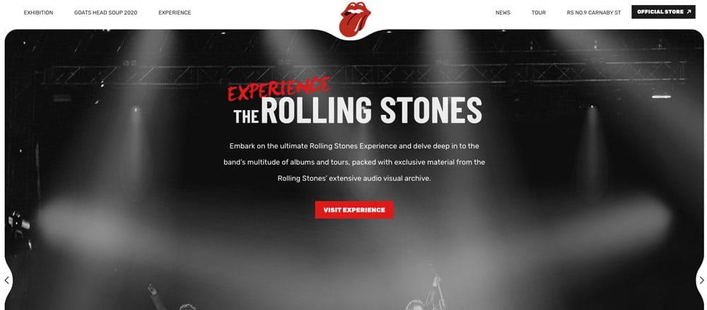 website rolling stones