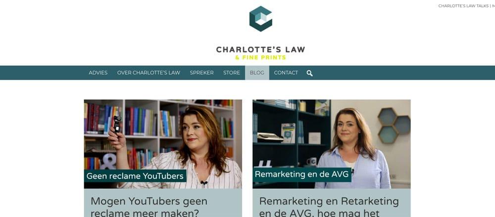 wordpress blog charlotte's law